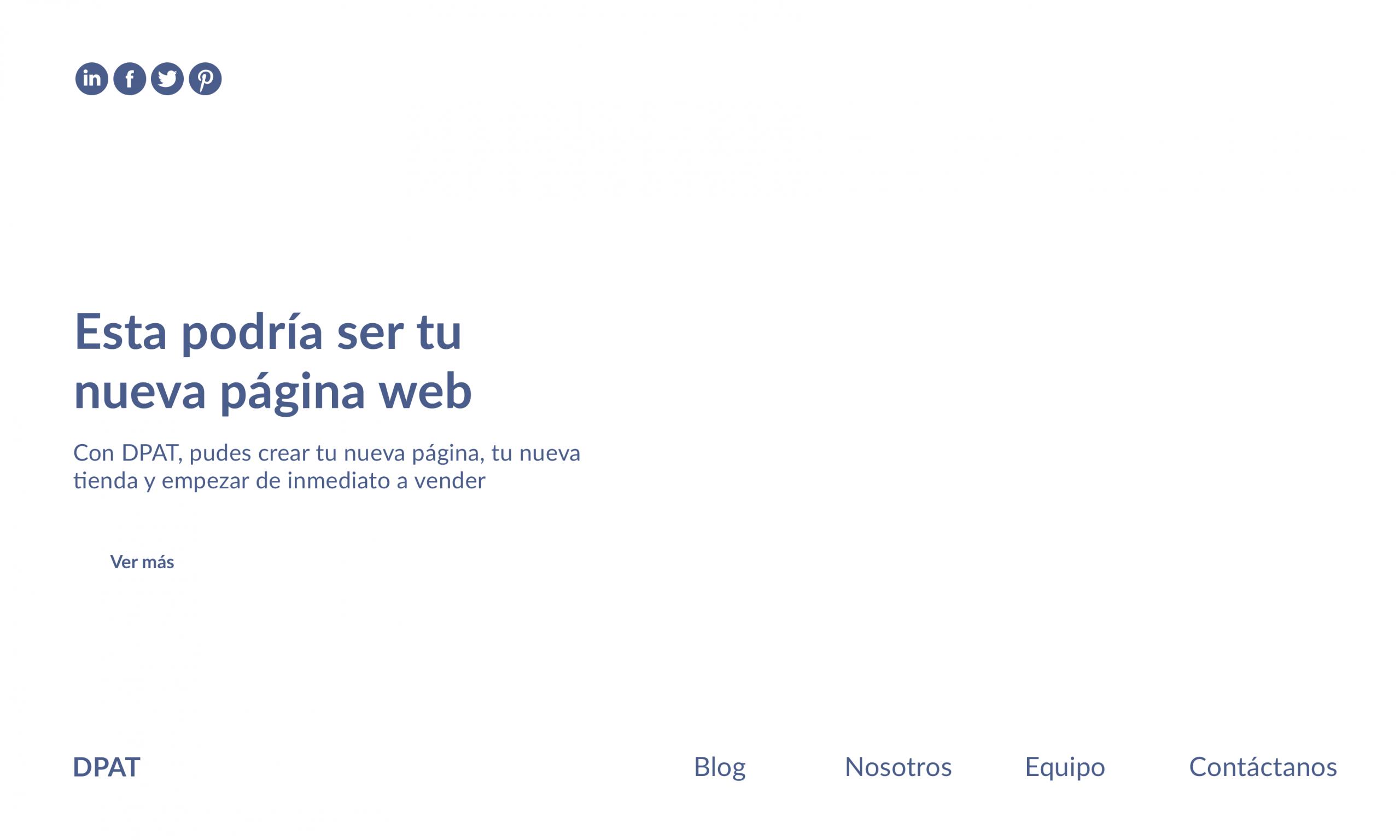 página simple